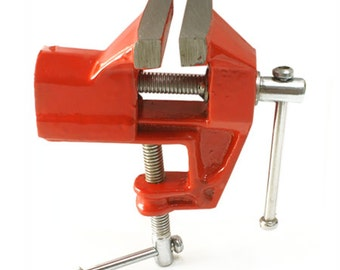 "Jewelry Bench Vise Tool Clamps onto Workbench 2""Jaws - 12-204"
