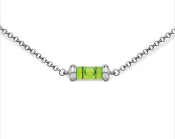 "Mini Level Necklace 18"""