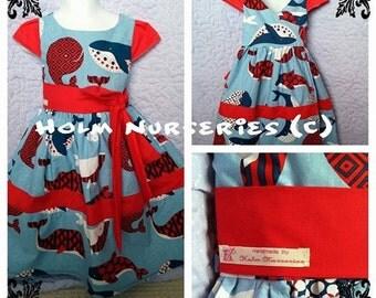 Handmade wrap dress - Made to order