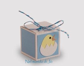 """Box brings confetti """"chick"""""""