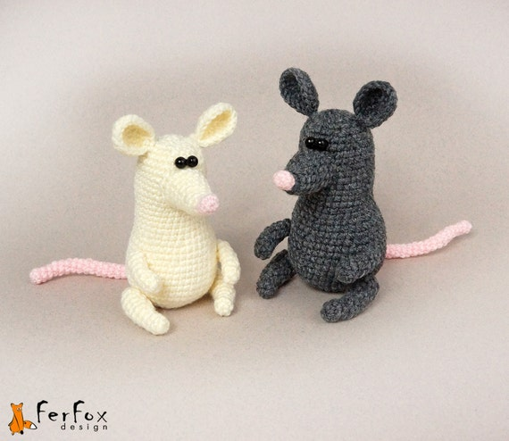 Diy Amigurumi Animals : Crochet mouse pattern, amigurumi pattern, DIY, crochet ...