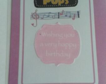 POP - Birthday card