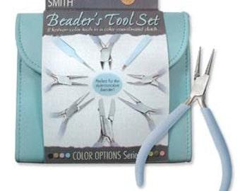 Beader's Tool Kit - Light Blue