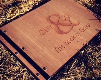 Personalised A3 portfolio landscape - graduation, design, presentation, customised