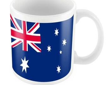 Australia Road To World Cup Ceramic Mug Gift Birthday Present Novelty Brasil 2014