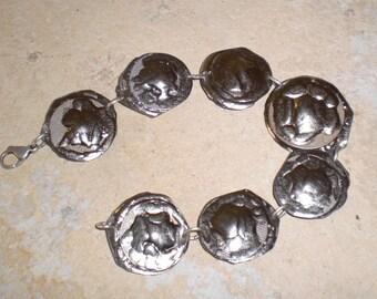 bracelet titanium silver sterling 925