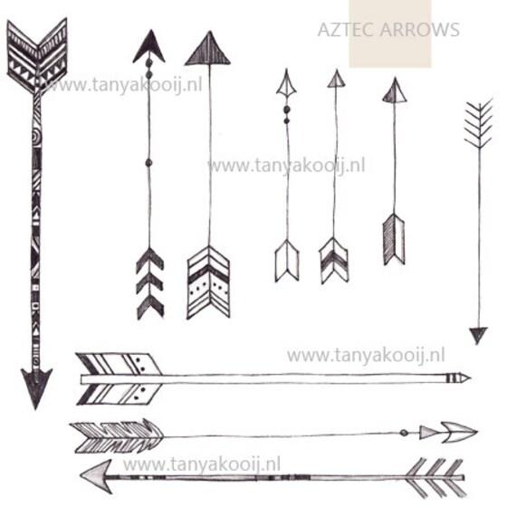 Aztec Arrow Clip Art Arrows Clip Art Aztec