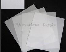 Hotfix Rhinestone Transfer Paper Material, hotfix transfer tape, rhinestone transfer material, rhinestone design stencil transfer paper