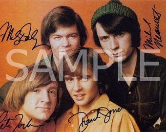Fabric Block  *The MONKEES*   MONKX8- FREE Shipping