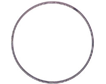 "Metal Hoop Ring For Crafts 5"" 3602-05"