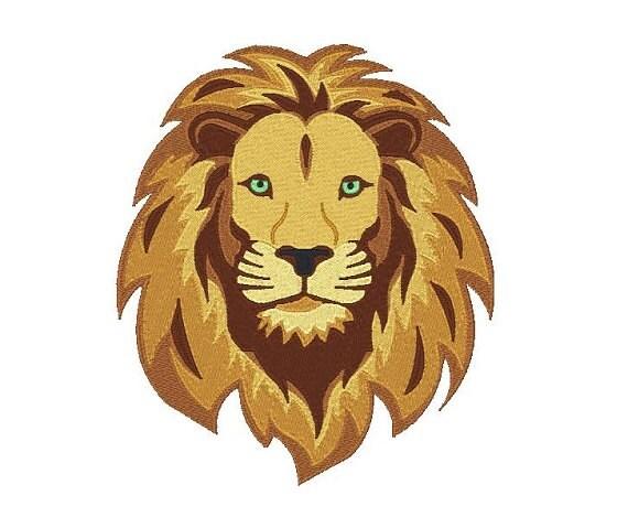 Lion Machine Embroidery Design Lion Design Lion Head