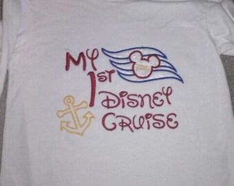 My 1st Disney Cruise personalized shirt