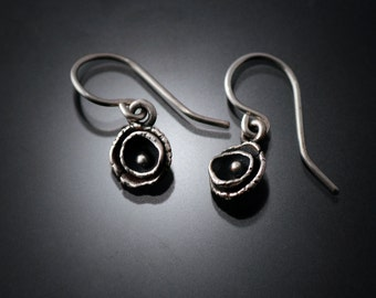 "Sterling Silver Earrings | silver earrings | sterling earrings | Fashion jewelry earrings | ""Into the center"" Earrings"