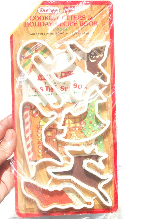Vintage christmas cookie cutters craft supply baking supply for Vintage christmas craft supplies