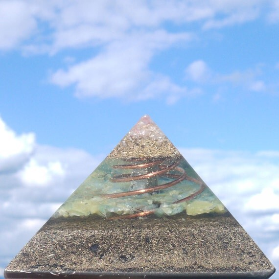 Orgone Energy Pyramid Negative Ion Generator Energy Field