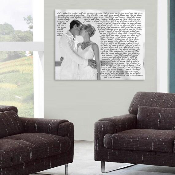 cadeau mariage premi re danse toile personnalis impression. Black Bedroom Furniture Sets. Home Design Ideas