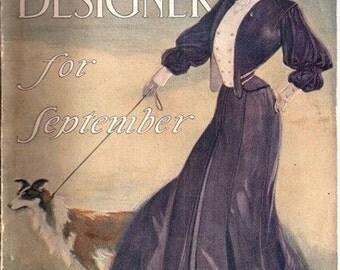 The Designer for September Vol. XX Fashion Magazine 1904