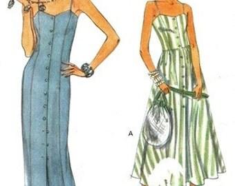 Vogue 8691 Knock 'Em Dead Summer Dress 1993 / SZ6-10 UNCUT