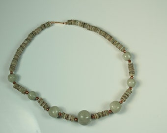 Puka Shells and Beads Necklace