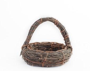 Newborn Prop Vintage Basket