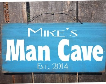 Man cave Sign, man cave decor, man cave, custom man cave sign, personalized man cave, personalized sign
