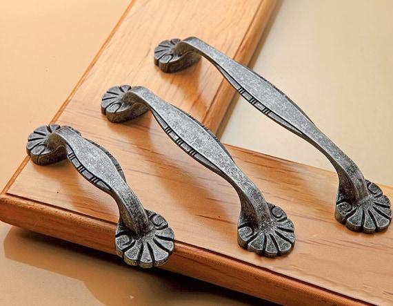 Dresser Pull Drawer Pulls Handles Knob Rustic Antique Bronze Retro Kitchen Cabinet Door Handle