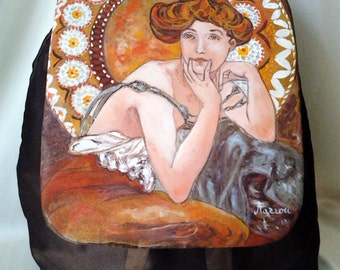 "Bag - Backpack ""Mucha"""
