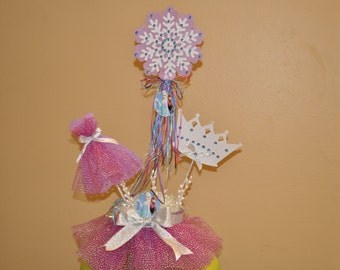 Frozen Inspired Tutu Centerpiece