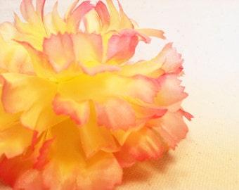 Carnation Flower Hair Clip
