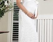 Maternity Dress Wedding White
