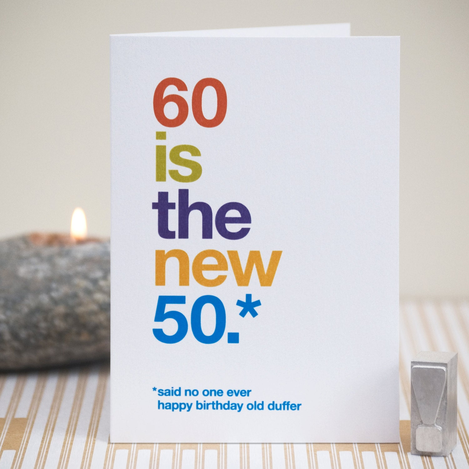 Funny 60th Birthday Card 60 Birthday Witty Birthday Card – 60th Birthday Sayings for Cards