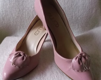 Vintage Dusty Rose Pink Shoes