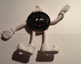 """Vintage Bendable Oreo Man New from the 90""""s"""