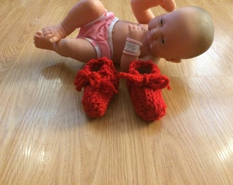 Baby Booties / Slippers / Shoes Newborn / Infant size  New Handmade