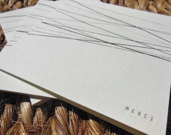 Handprinted MERCI Card Set