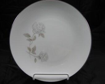 VINTAGE NORITAKE ROSAY 10 1/2 dinner plate