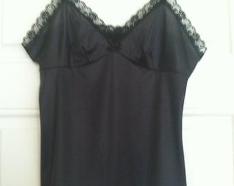 Beautiful Black Camisole - Size Medium