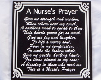 Nurse Card Personalized Gift for Nurse Nurse Appreciation