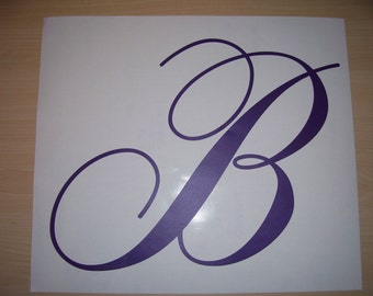 "Vinyl letters, Single Letter Decals 8"",9"" &10"""