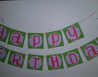 Tinker Bell Birthday Banner