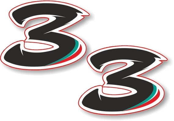 Vinyl stickerdecal riders race number max biaggi 3 extra like this item thecheapjerseys Image collections
