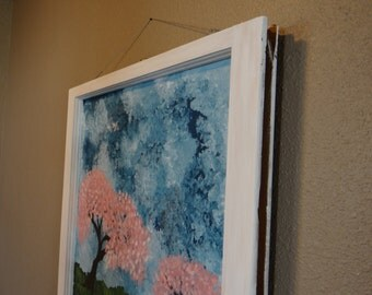 Popular items for old window on etsy for Painting on glass windows with acrylics