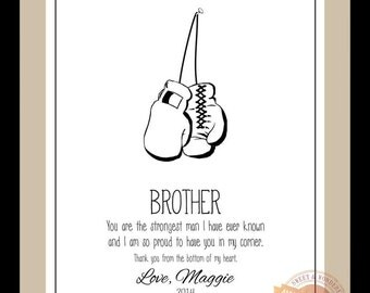 Wedding Gift For Brother Best Man : ... Brother Wedding Gift for Brother Birthday Gift Christmas Gift Best Man