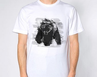 Bear Ink -- Printed on American Apparel