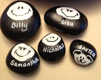 Additional personalized rocks
