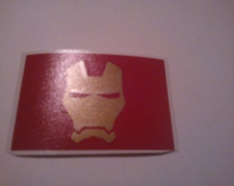 Iron Man decal