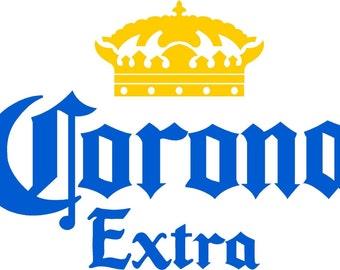 Corona Extra Cornhole Decals (Set of 2)