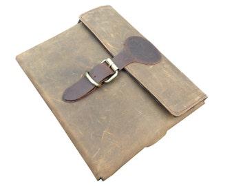 Distressed Leather Apple iPad Tablet Case