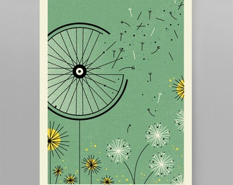 Windblown Artcrank Poster 18x24 Screenprint