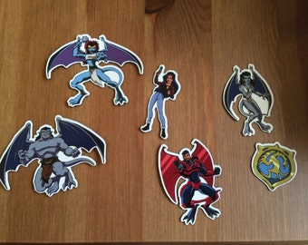 Disney Gargoyles Fridge Magnets - Series 2